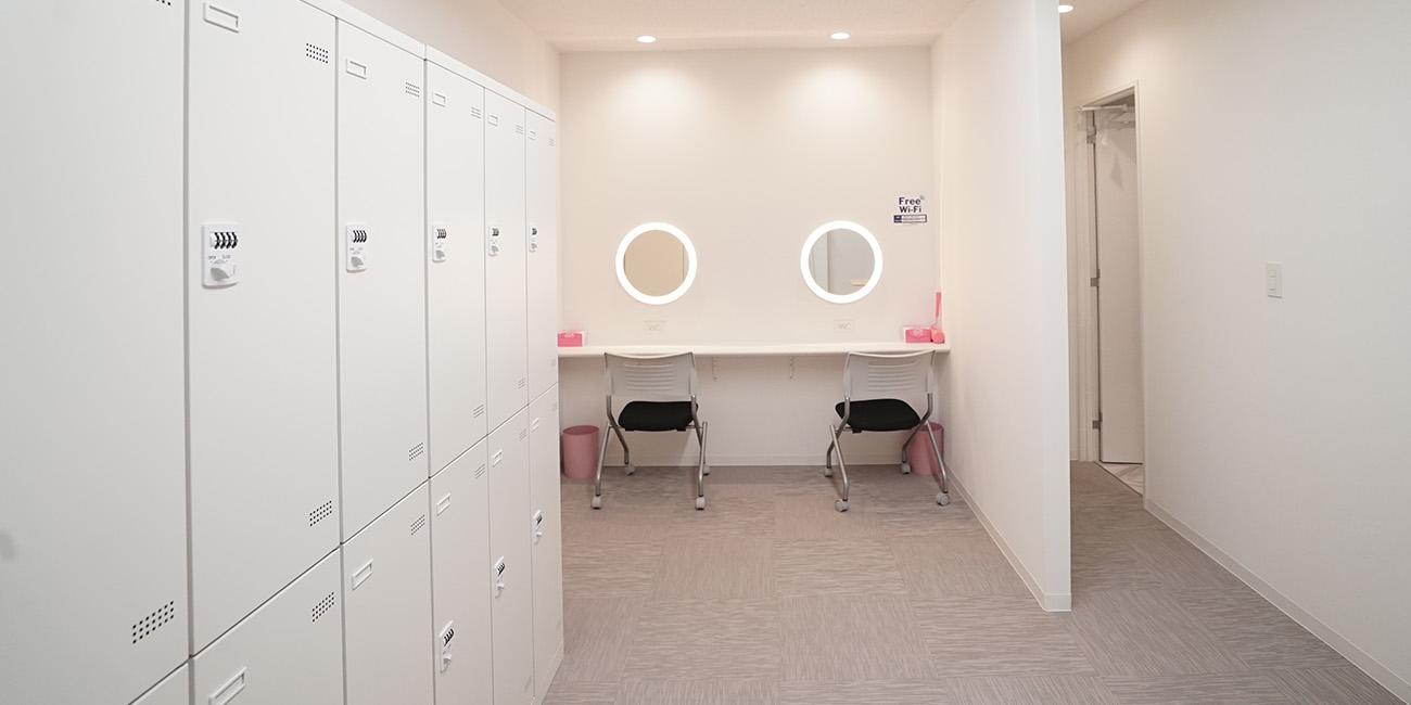 ロッカー&更衣室|スペースパートナー